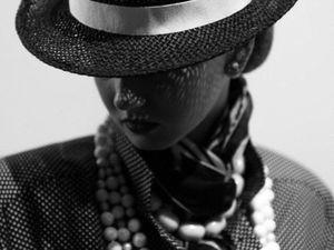 Модный показ с участием наших шляп,  SLAVA ZAITSEV Коллекции