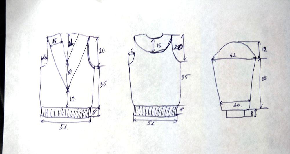 свитер вязаный, вяжу сама
