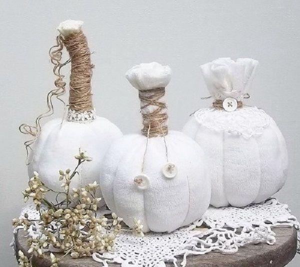 белый хэллоуин