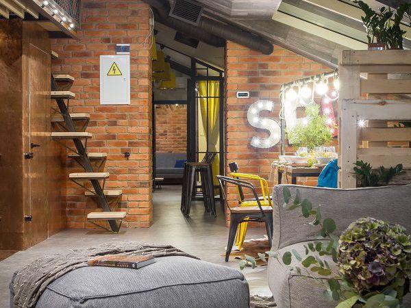 Готовые проекты - отель в стиле лофт | Ярмарка Мастеров - ручная работа, handmade