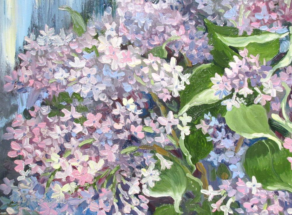 картина маслом цветы, елена шведова