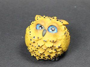 Мастер-класс: лепим фигурку «Совенок» из полимерной глины. Ярмарка Мастеров - ручная работа, handmade.