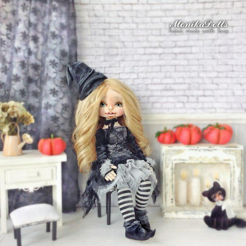 текстильная кукла, хендмейд, подарок на новый год