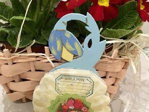 Мастерим магнит для записей — подарок на 8 марта. Ярмарка Мастеров - ручная работа, handmade.