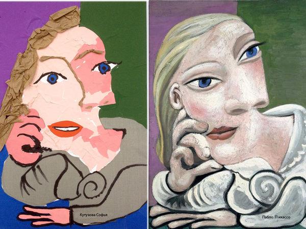 Дети и Пикассо | Ярмарка Мастеров - ручная работа, handmade