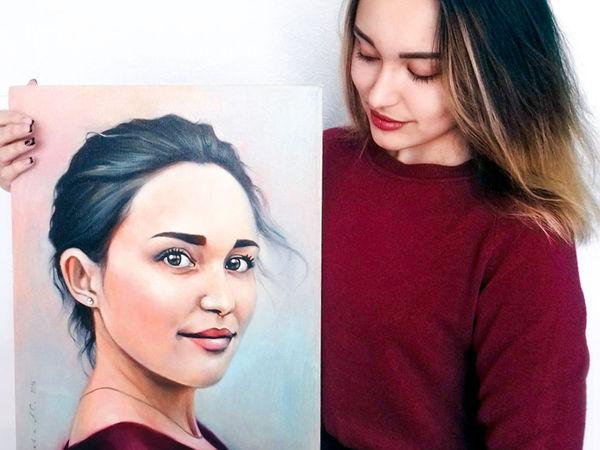 Портрет на заказ | Ярмарка Мастеров - ручная работа, handmade