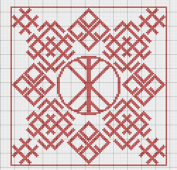 Вышивка символов оберегов схемы Славянские обереги вышивка схемы тайных знаков (фото)
