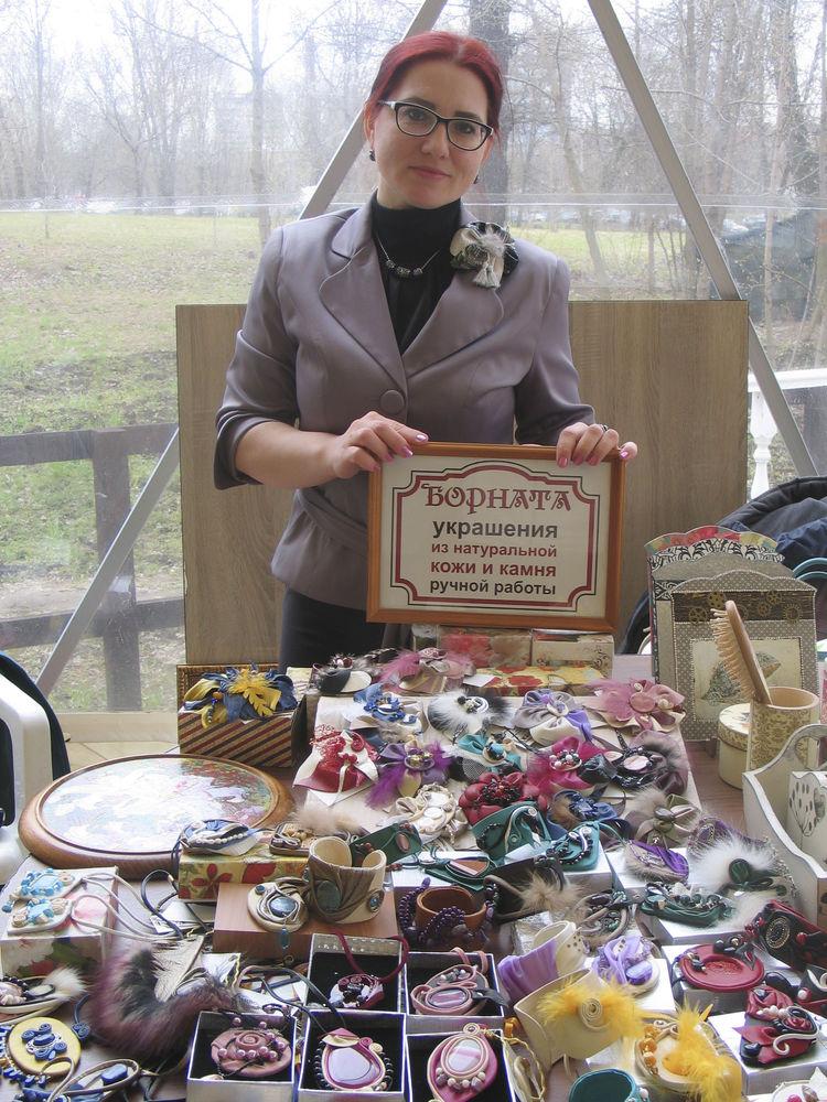 выставка в москве, украшения борната, участник борната