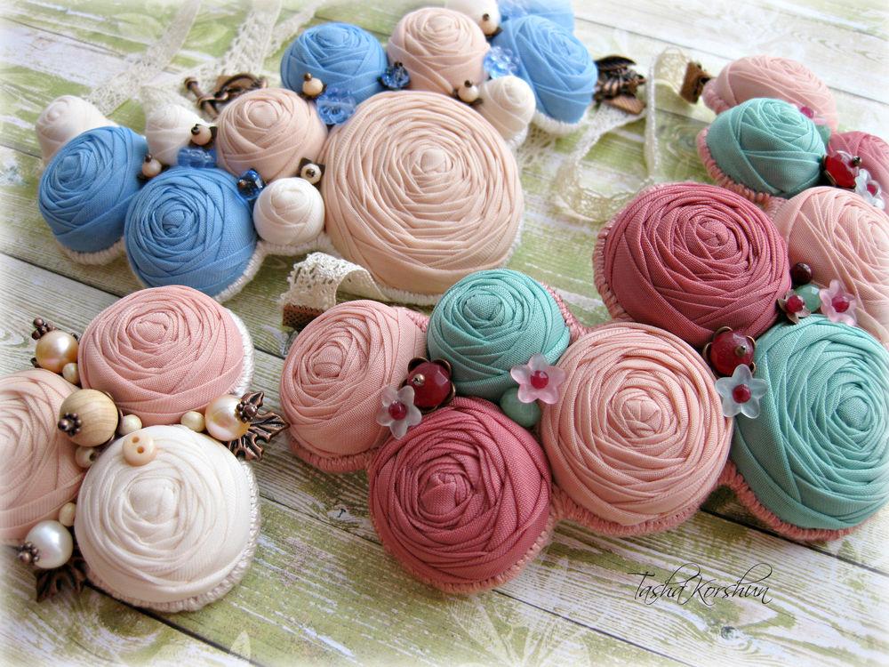 подарок, акция, скидки, украшения ручной работы, цветочные украшения, текстильные украшения, подарок к 8 марта