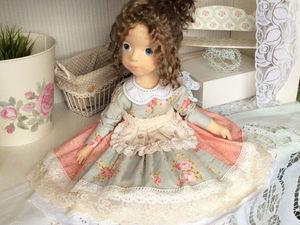 Текстильная коллекционная кукла Василиса. Ярмарка Мастеров - ручная работа, handmade.