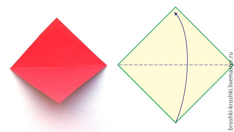 весенний венок, модульное оригами