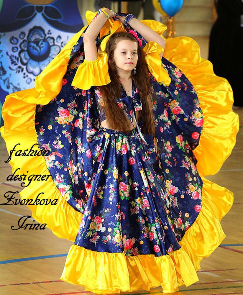 костюмы, фламенковские юбки