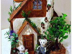 Домик для Мышиной семьи | Ярмарка Мастеров - ручная работа, handmade