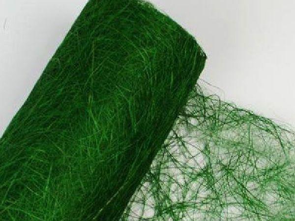 Сизалевое полотно - темно-зеленый цвет в наличии! | Ярмарка Мастеров - ручная работа, handmade