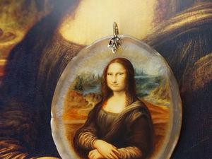 О чем мне рассказала Мона Лиза...   Ярмарка Мастеров - ручная работа, handmade