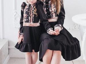 Детское платье в подарок!. Ярмарка Мастеров - ручная работа, handmade.