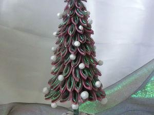 Делаем новогоднюю ёлочку. Ярмарка Мастеров - ручная работа, handmade.