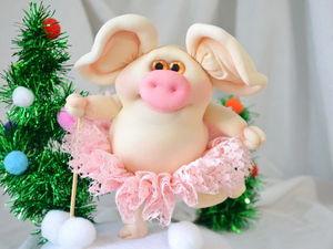Шьем свинку — символ 2019 года. Ярмарка Мастеров - ручная работа, handmade.