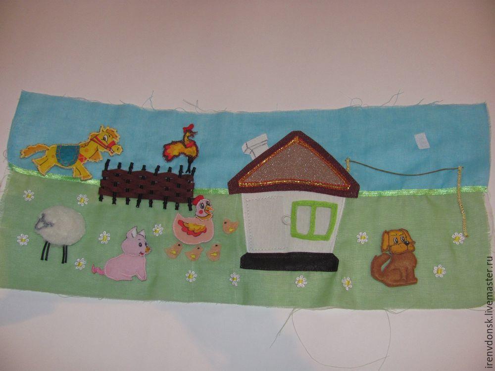 В подарок малышу: делаем развивающий коврик-трансформер. Часть 1, фото № 4