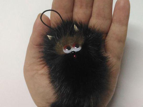 Котик на ладони   Ярмарка Мастеров - ручная работа, handmade