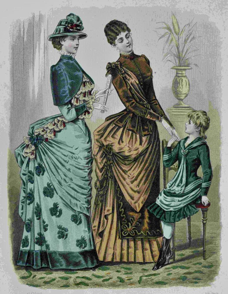 Восхитительная мода конца ХIХ века, фото № 26
