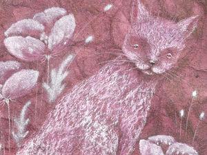 Кот, который съел всю малину. И Подарок!. Ярмарка Мастеров - ручная работа, handmade.
