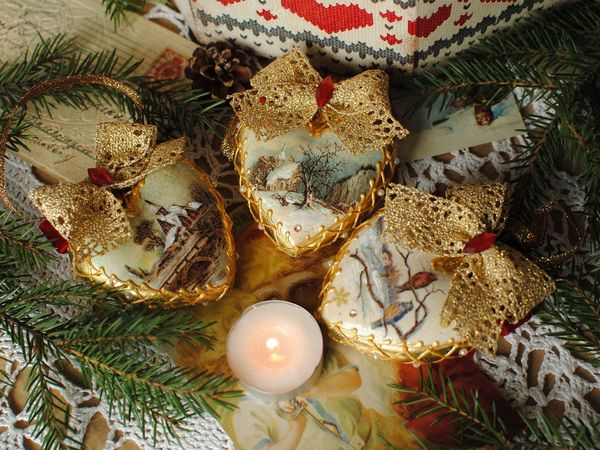 Новогоднее настроение летом:))) | Ярмарка Мастеров - ручная работа, handmade