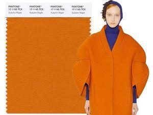 Мода наступающего сезона осень-зима 2017-2018 - Актуальные цвета по версии Института Pantone. Ярмарка Мастеров - ручная работа, handmade.
