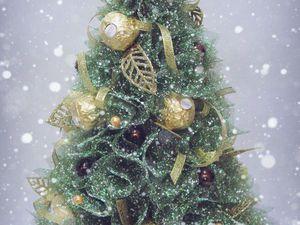 Мастерим новогоднюю ёлочку с конфетами. Ярмарка Мастеров - ручная работа, handmade.