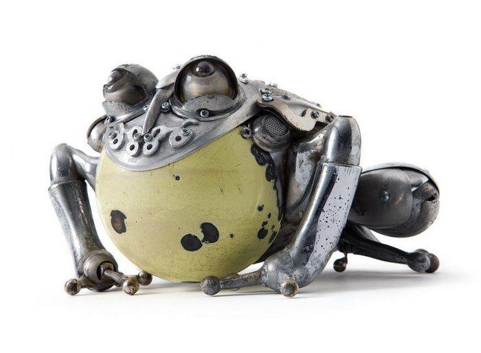 Животные из металла французского скульптора Edouard Martinet, фото № 10