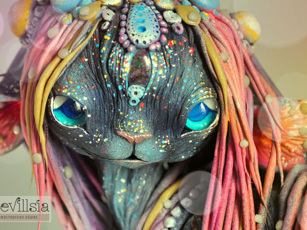 Минаюкхи, Дух Танцующей Радуги | Ярмарка Мастеров - ручная работа, handmade