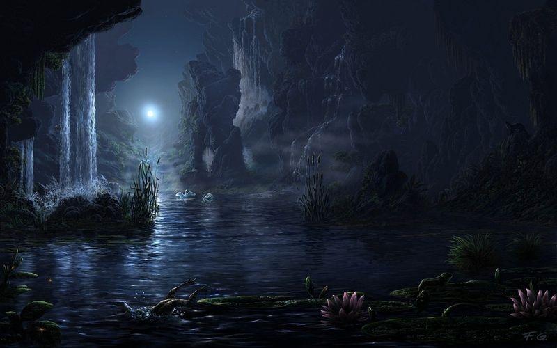 мистика, волшебный лес