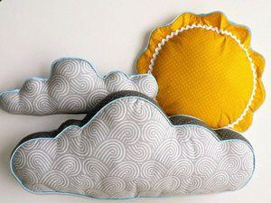Оригинальные идеи для создания хорошей «погоды» в детской комнате | Ярмарка Мастеров - ручная работа, handmade