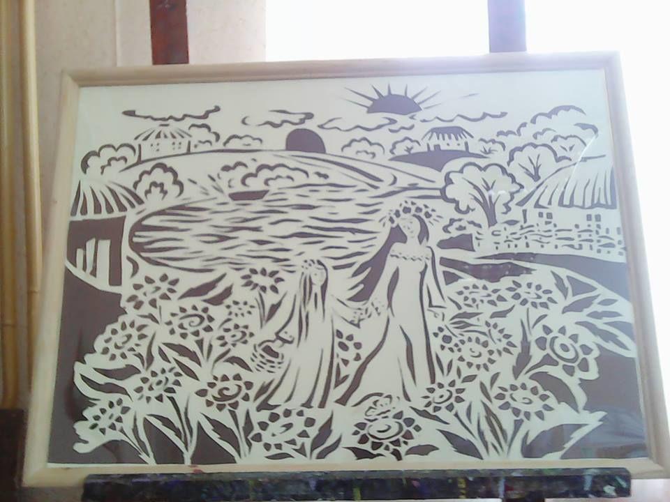 вырезание из бумаги, вытынанка, ажурное вырезание, народное творчество, искусство, традиция, украина, школа искусств, выпускная работа, работа с бумагой, народный стиль, рейзеле, китай, цзяньчжи