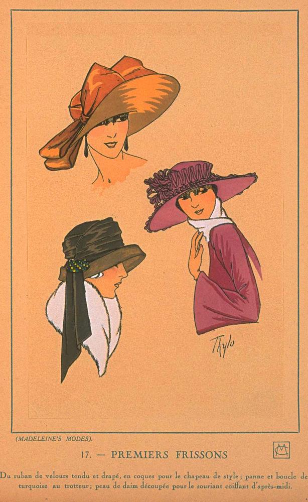 Ах, какие шляпки! Шляпная мода 1922 года по версии французского журнала «Les chapeaux du Tres parisien». Часть 2, фото № 19
