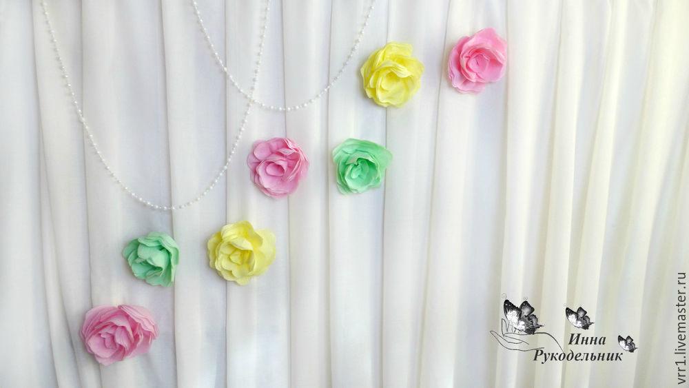 цветы, цветы для фона, мастер-класс