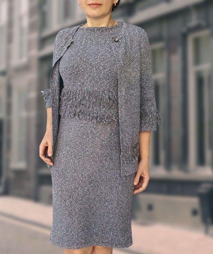 вязаное платье, купить платье