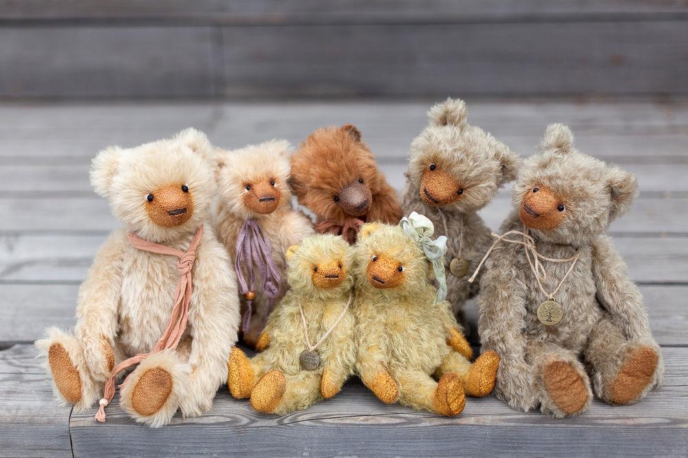 мишки тедди, artist teddy bears