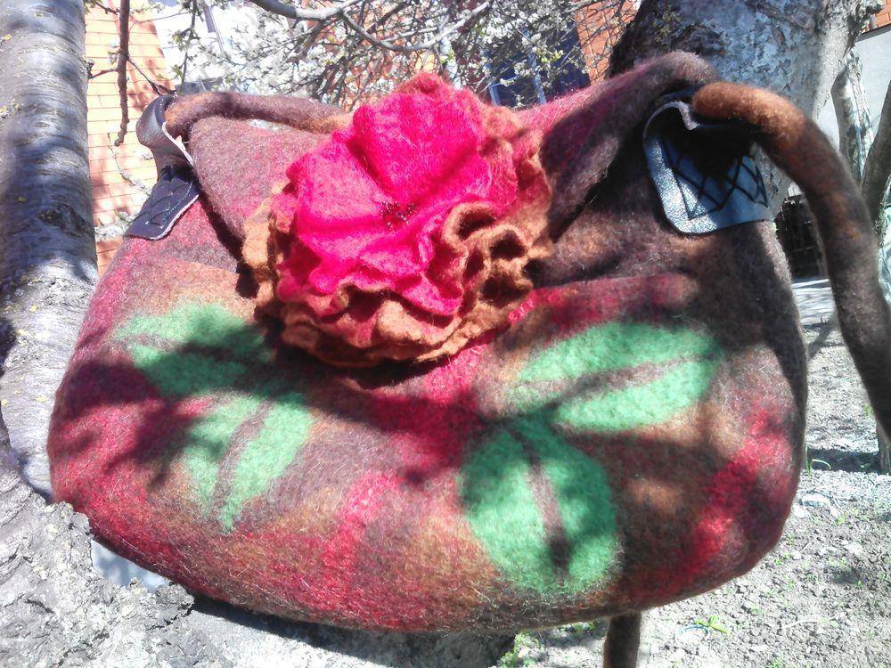 валяные шарфы, зима