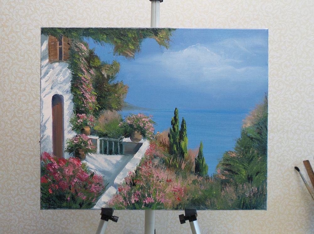 творческий процесс, живопись