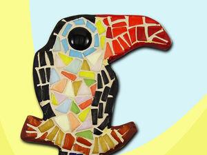 Хотите выиграть в подарок набор по мозаике Тукан?. Ярмарка Мастеров - ручная работа, handmade.