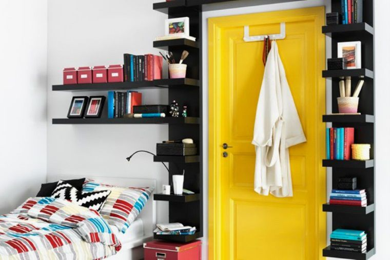 Поиграем в прятки: 45+ идей полок для маленькой квартиры, фото № 2