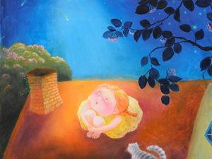 Яркая и патриархально-сказочная Наташа Виллон: подборка из 40 картин. Ярмарка Мастеров - ручная работа, handmade.