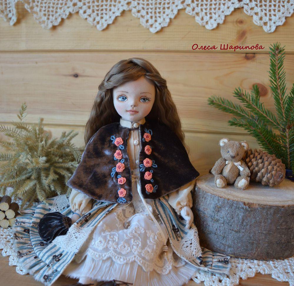 авторская кукла, единственный экземпляр, купить куклу