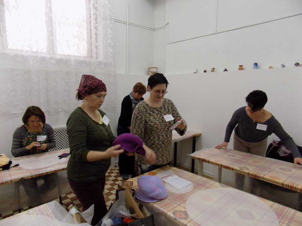 мастер-класс по валянию, виктория дементьева