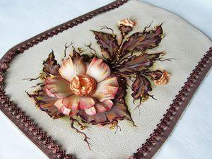 Декор сумки «Осенний вальс». Ярмарка Мастеров - ручная работа, handmade.