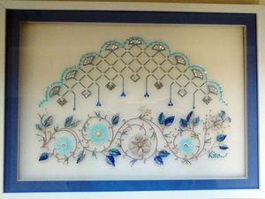 Великолепные работы в технике люневильской вышивки от японского Atelier Kirara. Ярмарка Мастеров - ручная работа, handmade.