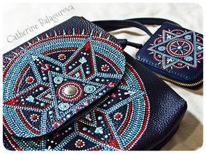Отзыв заказчика о моем комплекте сумка и кошелек. Ярмарка Мастеров - ручная работа, handmade.