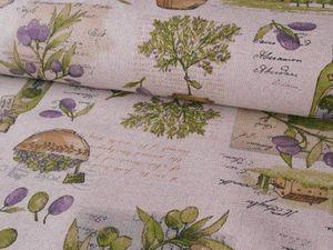 Новинки интерьерные ткани. Ярмарка Мастеров - ручная работа, handmade.