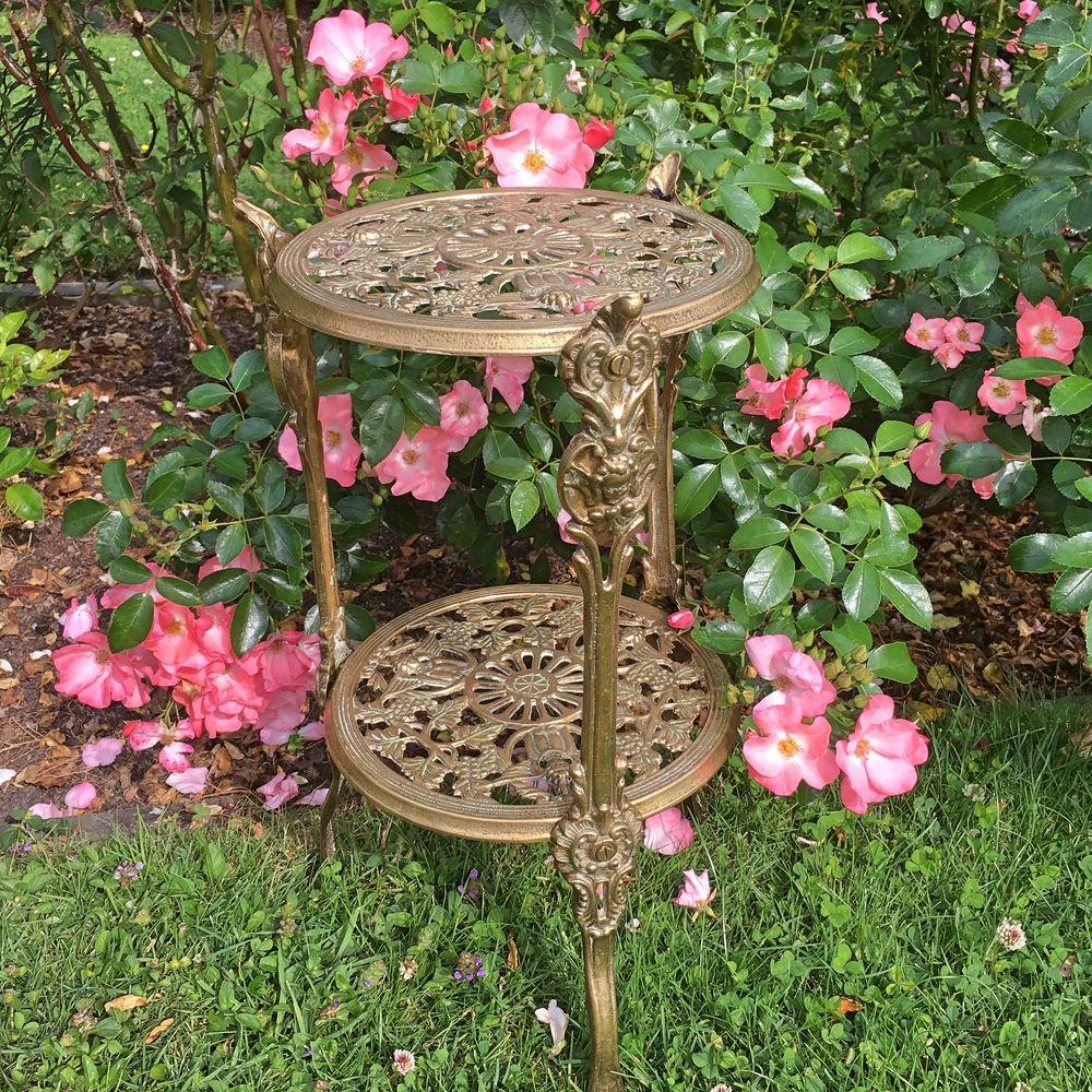 столик бронзовый